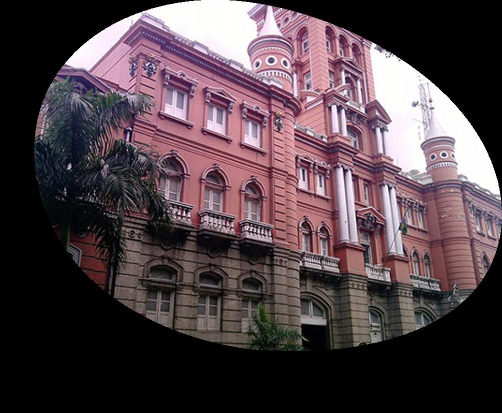 Facha do quartel central do Corpo de Bombeiros do Estado do Rio de Janeiro